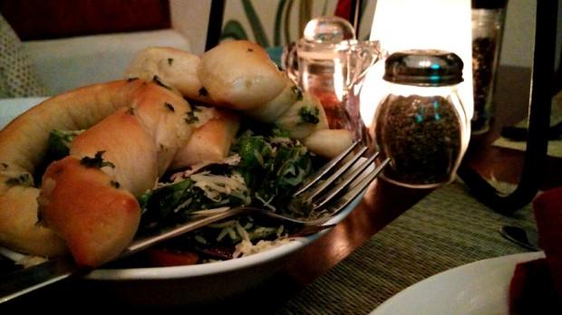 Salad at Pizza Mia, Panjim