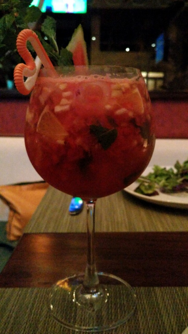 Sangria at Pizza Mia, Panjim