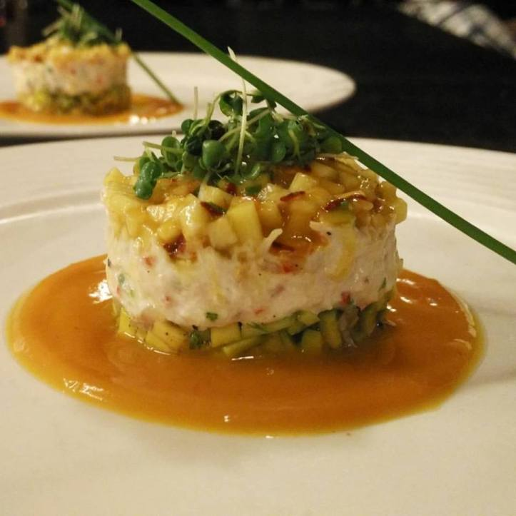Crab, Mango and Avocado Salad @ Bay 15 Goa