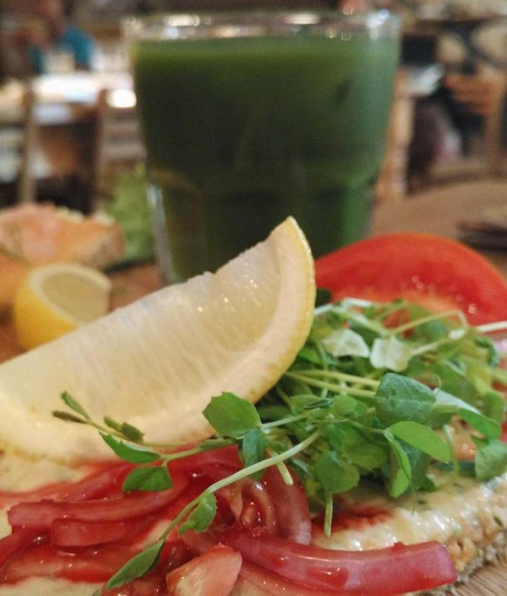Tuna Salad Tartine @ Le Pain Quotidien, Colaba, Mumbai