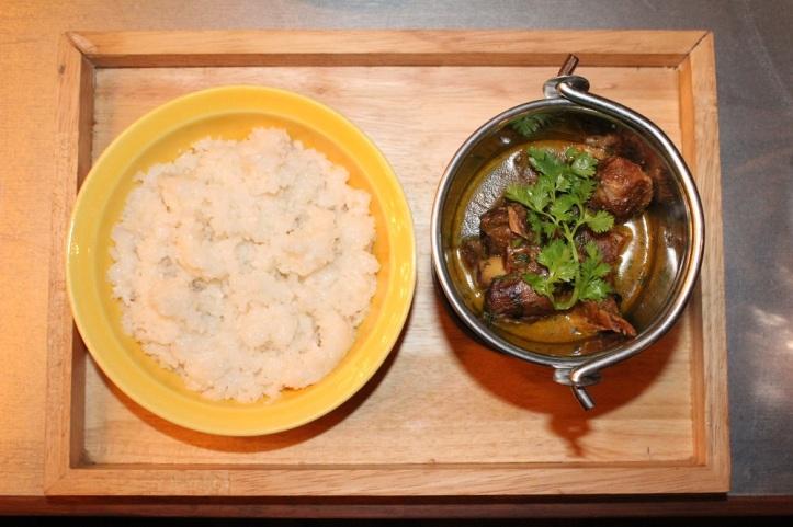 Mutton Curry and Rice @ Monkey Bar, Bandra West, Mumbai