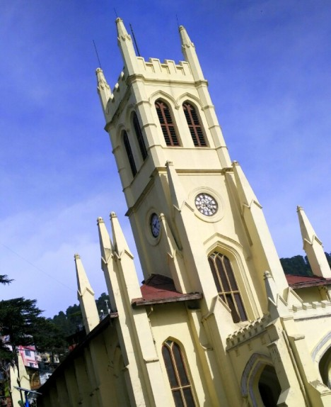 Christ Church, The Ridge, Shimla