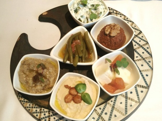 Mezze Platter - Ottoman Cafe, Four Seasons Worli