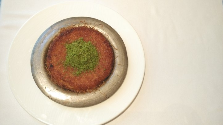 Kunefe with Unsalted Cheese - Ottoman Cafe, Four Seasons Worli