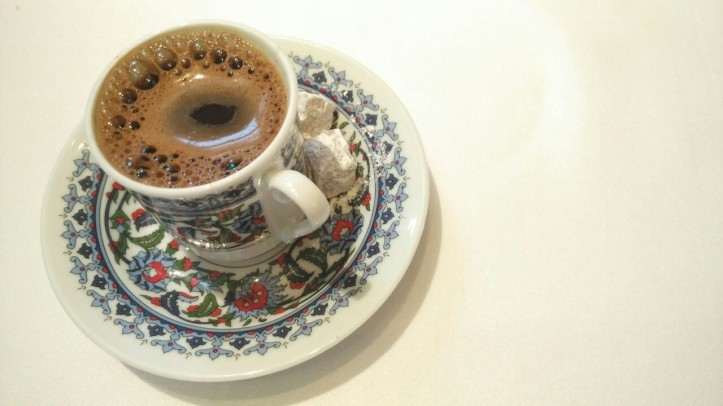 Turkish Coffee - Ottoman Cafe, Four Seasons Worli