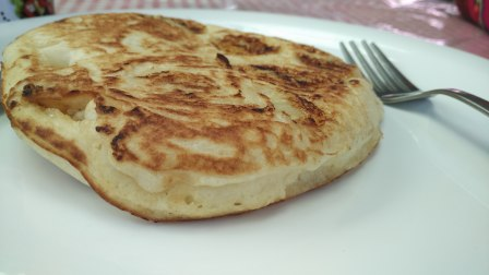 Pancakes at Chocolate Log, McLeodganj