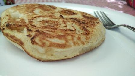 Pancakes at Chocolate Log, McLeodganj