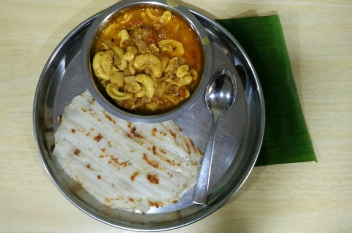 Kajuchi usal with panki, Guhagar