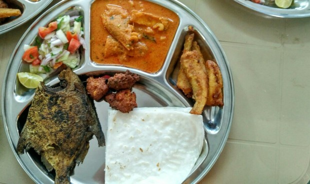 Fish thali at Koli lunch with Authenticook