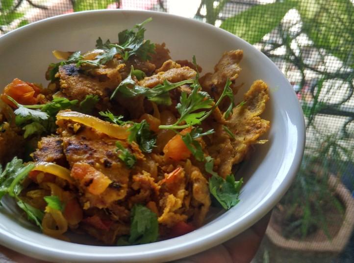 Tukkar/Leftover Roti Poha/Sindhi Selmani