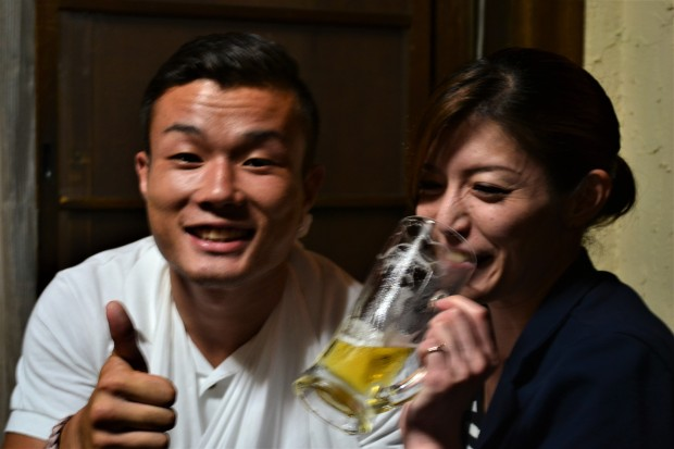 Drinking buddies, Kyoto