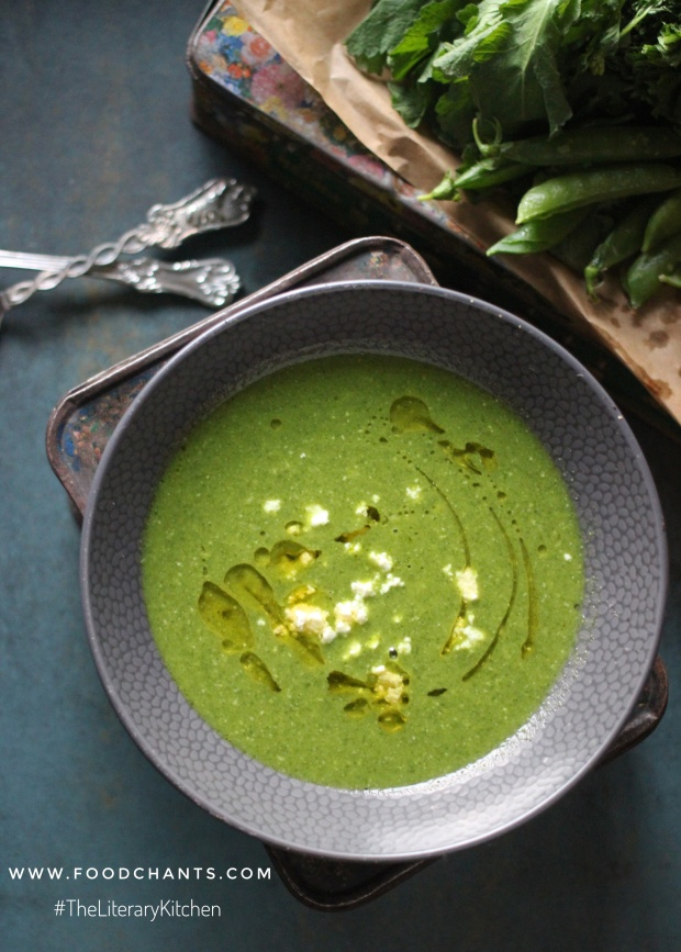Pea and Mustard Soup - The Book Thief: The Literary Kitchen #12