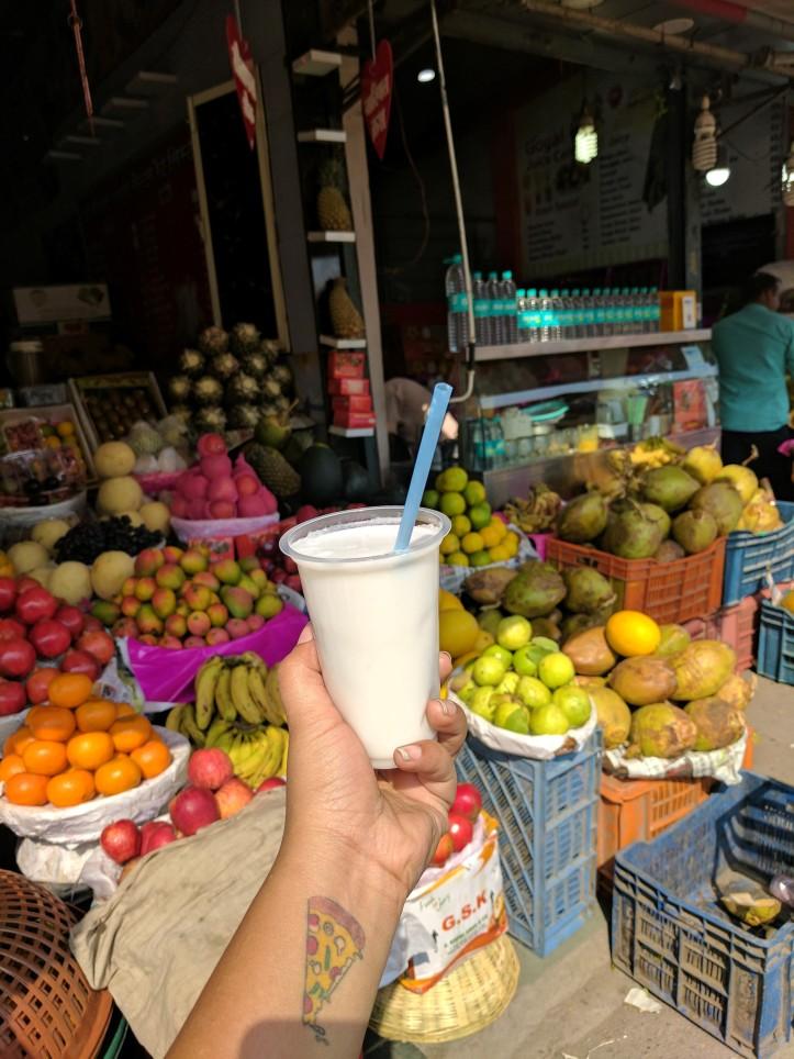 Coconut Crush at Goyal Juice, Palasia Market, Indore
