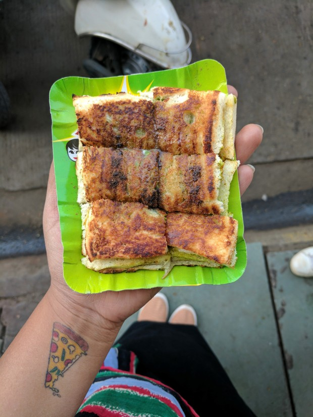 Cheese Chutney Sandwich at Sapna Sandwich, Indore