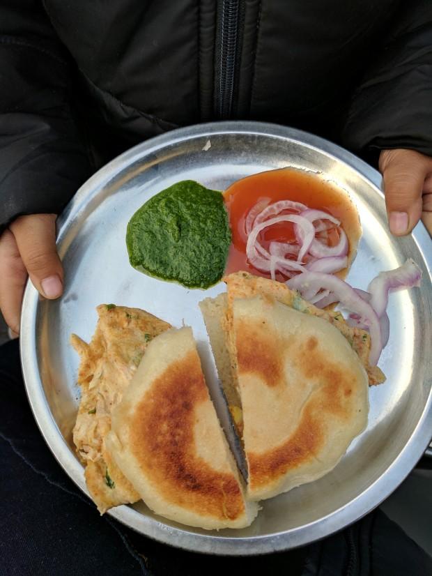 Benjo at Johny Hot Dog, Indore
